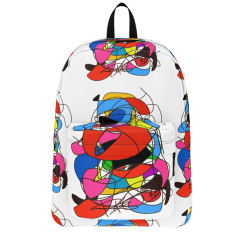 S82001 Abstract Art Colorful Regiaart Backpack