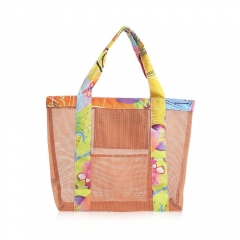 95008-OR Transparent Mesh Tote Bag
