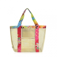 95008-YL Transparent Mesh Tote Bag