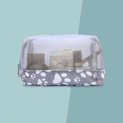 55061-DPP  Paw Cosmetic Bag